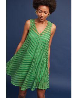 Juneau Burnout Dress, Green