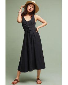 Polly Corseted Midi Dress