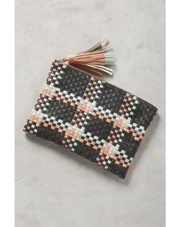 Paloma Woven Clutch