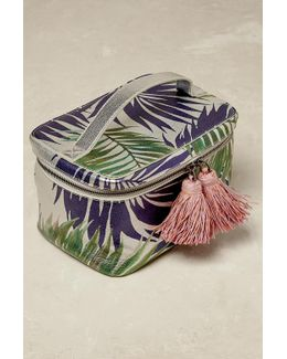 Palm Print Wash Bag