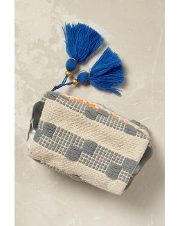 Byron Woven Cosmetic Pouch