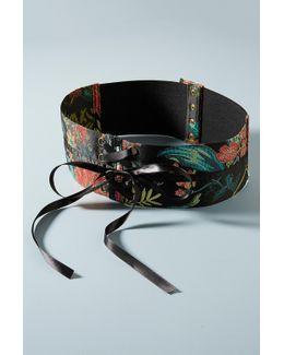 Brocade Corset Belt