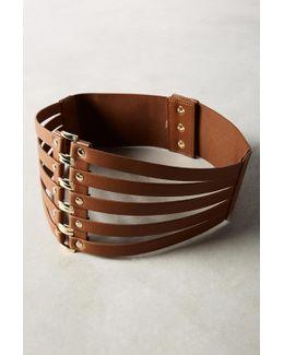 Cut-out Corset Belt