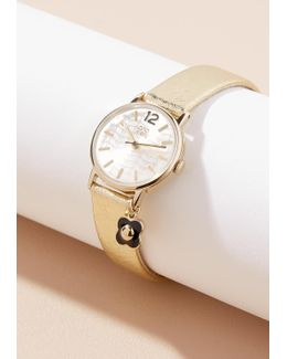 Camille Leather Watch