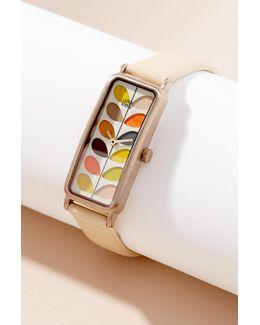 Eleonore Leather Watch