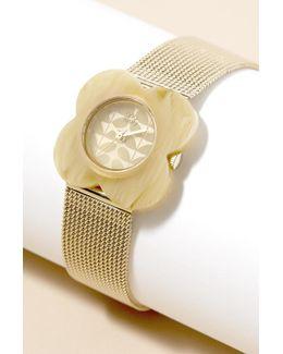 Claudette Flower Watch