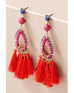 Cleo Fringe Drop Earrings