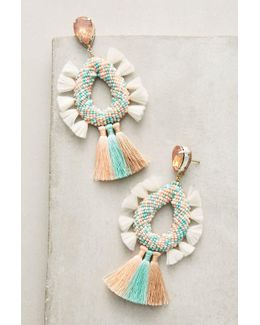 Sorbet Fringe Drop Earrings