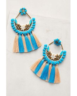Pom & Tassel Earrings