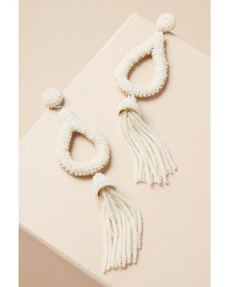 Jasmine Tassel Drop Earrings