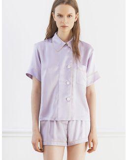 Shelby Pajama Top Lavender