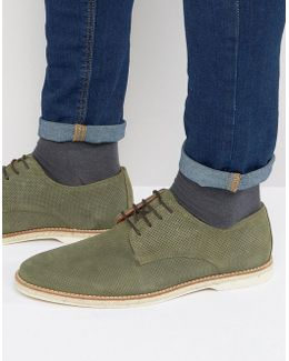 Barrock Suede Lace Up Shoes