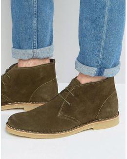 Calabassas Suede Desert Boots