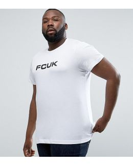 Plus T-shirt With Fcuk Print