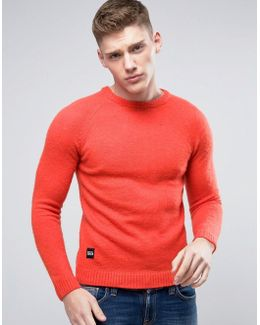 Brushed Knitted Sweater