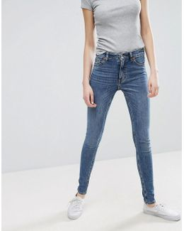 Mocki Slim Mid Waist Jeans
