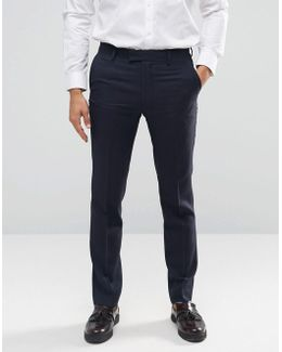 Tarling Micro Weave Suit Trousers