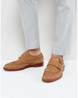 Briladien Leather Toe Cap Oxford Shoes