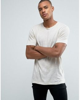 Premium Longline Linen T-shirt