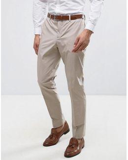 Premium Slim Suit Trousers