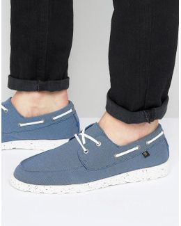 Clegg Canvas Boat Shoes