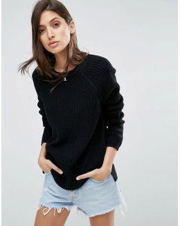 Ultimate Chunky Sweater With Crew Neck