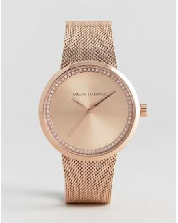Rose Gold Liv Watch - Rose Gold