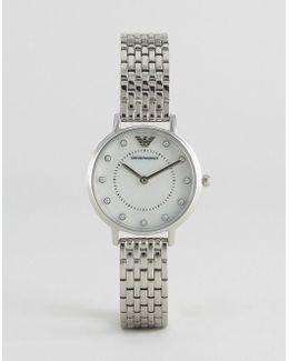 Ar2511 Silver Kappa Mesh Watch