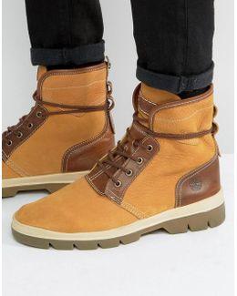 Cityblazer 4 Eye Leather Boots