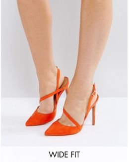 Parton Wide Fit Asymmetric Pointed Heels