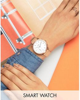 Q Ftw1129 Sand Leather Tailor Smart Watch