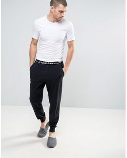 Joggers With Cuffed Ankle In Slim Fit