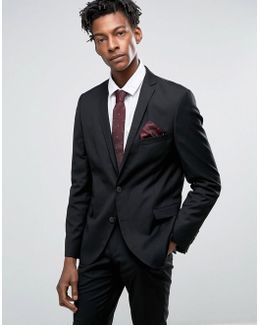 Skinny Fit Suit Jacket