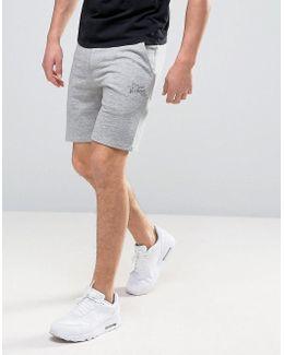 Vintage Drawstring Sweat Shorts In Marl