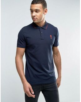 Core Short Sleeve Polo Shirt With Contrast Tipping