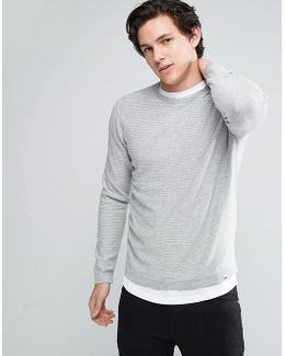Core Striped Crew Neck Sweater