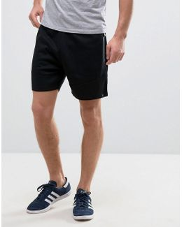 Core Loose Fit Sweat Shorts Wit Zip Detail