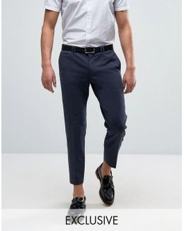 Skinny Tapered Jersey Pants