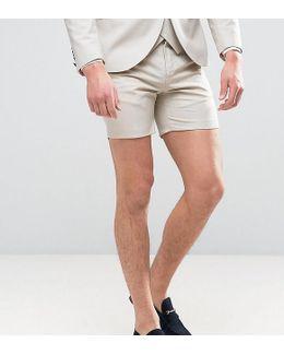 Super Skinny Wedding Smart Shorts