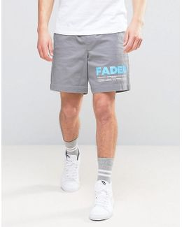 Elasticated Waist Shorts With Text Print