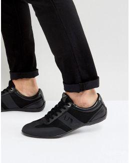 Logo Sneakers In Black