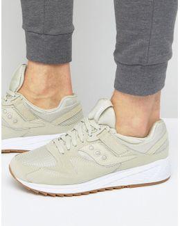 Grid 8500 Sneakers In Beige S70286-6