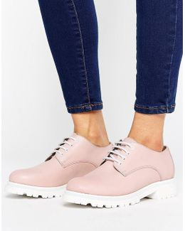 H By Hudson Leather Chunky Sole Shoe