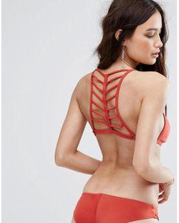Ladder Back Bikini Top