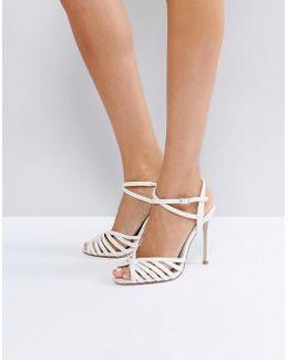 Honeypie Bridal Heeled Sandals