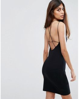 Kali Jersey Strappy Back Dress