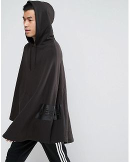 Festival Jersey Poncho With Side Print