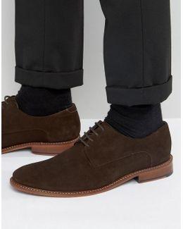 Joehal Suede Derby Shoes