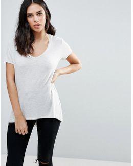 V Neck Boyfriend T-shirt