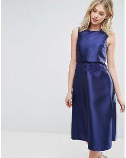 Premium 2 In 1 Midi Dress